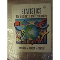Statistics For Business And Economics - Mcclave/benson/sinci
