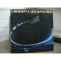 Lp Emerson Lake & Palmer In Concert Exx Estado