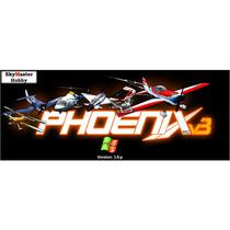 Simulador Phoenix / Aerofly + Cabo Rádio Jr/spektrum/futaba