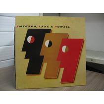 Lp Emerson Lake & Powell 1986 Exx Estado