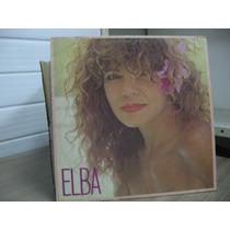 Lp Elba Ramalho Elba 1987 Exx Estado + Encarte Com Foto E Le