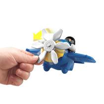 Imaginext Brinquedo Mini Aviões Sky Racers Avião Azul