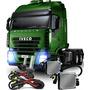 Kit Bi Xenon Farol Caminhão 24v Reator Lampada H4 H4-3 6000k