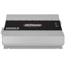 Modulo Potencia Soundigital Sd5000 Digital 1 Ou 2 Ohms 5000w