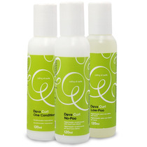 Kit Deva Curl Manutenção No-poo - Low-poo - One Condition