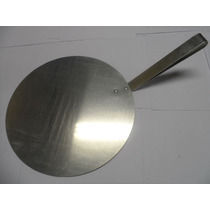 Pá Para Pizza Aluminio - 35 Diâmetro Cabo Curto