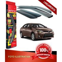 Defletor Calha De Chuva Corolla Sedan 08\13 4 Portas Tgpoli