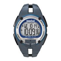 Relógio Timex Ironman 30 Lap Ti5k157/n - Cinza / Azul