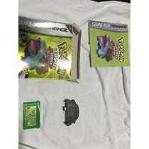 Pokemon Leaf Green Original Com Network Na Caixa Manual