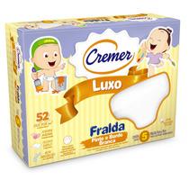 Fralda De Pano Luxo Branca Pinte E Borde - Cremer