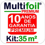 Manta Térmica Para Telhado M² 2 Faces (premium) 35 M²