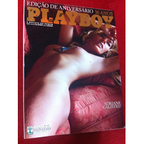 Revista Playboy Aniversário Adriane Galisteu Dani M Crystal