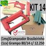 Grampeador Pacar (1maq) Brasileirinho+(1cx) 80/14 C/12.250