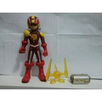 Megaman Nt Warrior Rockman Exe Heat Guts Style Boneco Figura