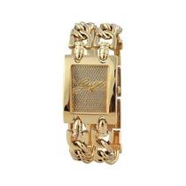 Relogio Guess W0073l1 Dourado Bracelete Novo Original