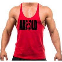 Camiseta Regata Academia Treino Musculação Arnold