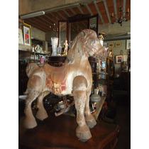 Cavalo, Brinquedo De Lata Inglês Anos 50