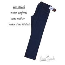Calça Jeans Masculina Com Strech -46 48 50 52 54 56 58 60 62
