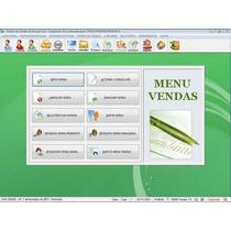 Programa Controle De Estoque, Vendas E Contas A Receber V1.0