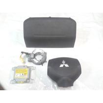 Kit Air Bag Bolsas D Painel Modulo E Cinta Mit. Pajero Tr4