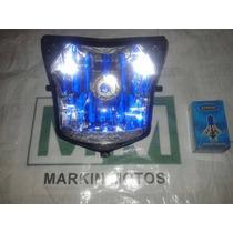 Bloco Optico Farol Honda Nxr150 Bros 13 14 + Lampada Xenon