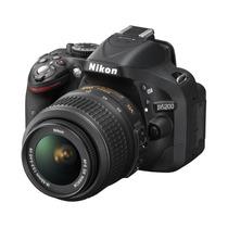 Câmera Nikon D5200 18-55 Cartão 32gb Classe 10 Bolsa Tripé G