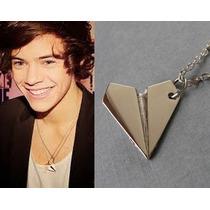 Colar Harry Styles - One Direction-avião De Papel-frete Grat