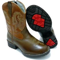 Bota Infantil Kids Country Masculina Texana Rodeio Peao Cour