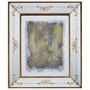 Quadro Espelhado Com Mulher De Frente Oldway - 55x45 Cm