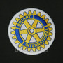 Patch Bordado Log078 Rotary Club Internacional Termocolante