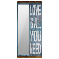 Espelho Love Is All You Need Oldway - 200x90 Cm