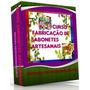 Curso Fabricação De Sabonetes Artesanais E Velas Artesanais