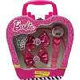 Barbie Relógio + Tiara E Presilhas Conjunto Supremo Candide