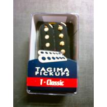 Captador Tagima Pickups T Classic Neck Duplo Preto Novo Nfe