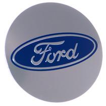 Kit 4 Calotinhas De Roda 55 Mm - Ford Racing Focus Fiesta St