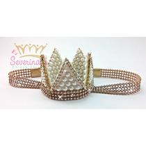 Tiara - Faixa Infantil Coroa Princesa