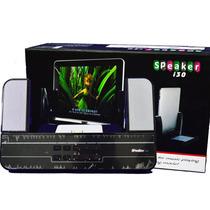 Caixa De Som Celular Iphone Ipad 110-220v C/ Controle E Usb