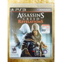 Jogo Assassins Creed Revelations Playstation 3, Original