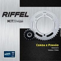 Kit Coroa 40z E Pinhão 17z Riffel Ninja Zx-10r 2006/2007