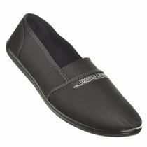 Sapato Sapatilha Moleca Tecido Feminino Original Novo