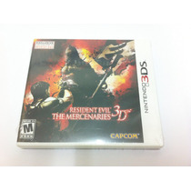 Resident Evil The Mercenaries 3d - 3ds - Lacrado - Americano