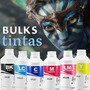 Tinta Corante Canon Pg Cl Ip Mg Mp Mx Bulk Kit 4 Cores 500ml