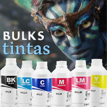 Tinta Sublimatica Inktec Transfer L Xp Tx Kit 4 Cores 500ml