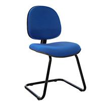 Cadeira Escritório Fixa Executiva Cp20- Azul - J.serrano