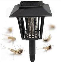 Lampada Solar De Jardim - Mata Mosquito Ou Apenas Luminária