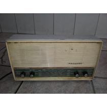 Rádio Antigo De Mesa Philips Coleção