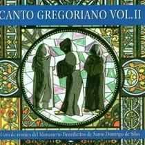 Cd Vol. 2-canto Gregoriano By Coro De Monjes Del Monasterio