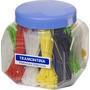 Abraçadeiras Nylon Color. 100x2,5 Pote C/ 1500 - Tramontina