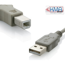 Cabo P/ Impressora Usb 2.0 High-speed A Macho X B Macho