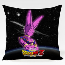 Almofada Dragon Ball Z Battle Of Gods Bills